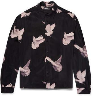 Amiri Oversized Printed Woven Shirt