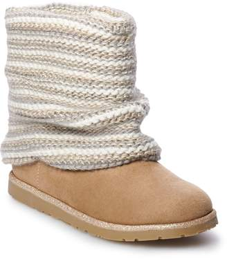 So SO Klara Girls' Sweater Boots