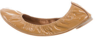 Tory Burch Tory Burch Patent Elasticized Flats