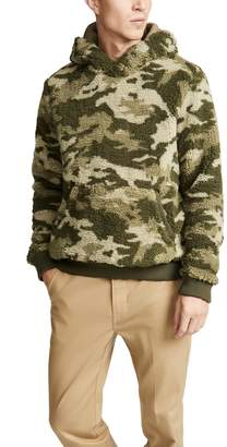 Atm Collection ATM Collection Camo Sherpa Hoodie