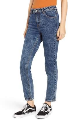 Denim & Supply Ralph Lauren Dr. Denim Supply Co. Edie High Waist Ankle Jeans