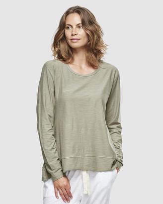 Organic Cotton Slub Long Sleeve T-Shirt