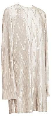 Givenchy Women's Zig Zag Pleated Dress