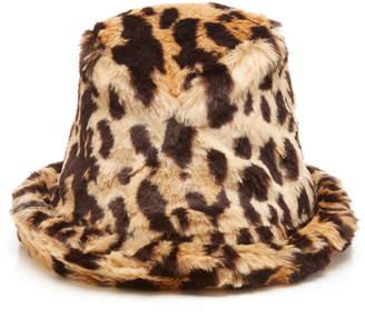 Anna Sui Urban Safari Faux Fur Hat