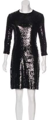 Tory Burch Sequin Mini Cocktail Dress