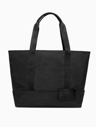 Calvin Klein nylon logo carry-all tote bag