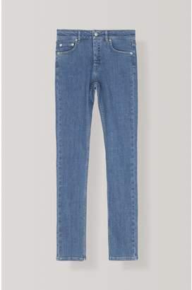 Ganni Classic Stretch Denim Slim Pants