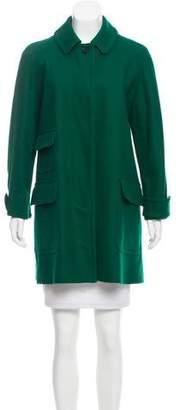 Stella McCartney Button-Up Wool Coat