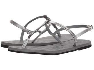 Havaianas You Riviera Crystal Sandals Women's Slippers