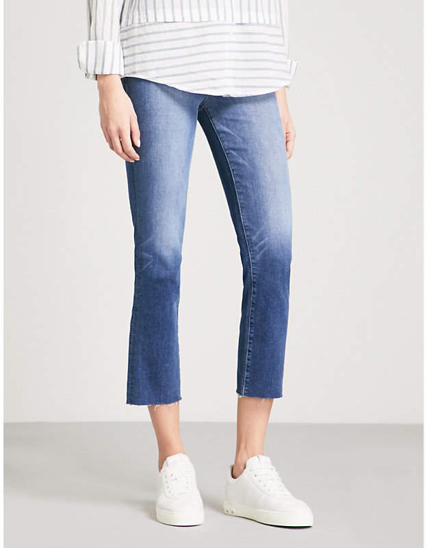 Hoxton straight cropped high-rise jeans