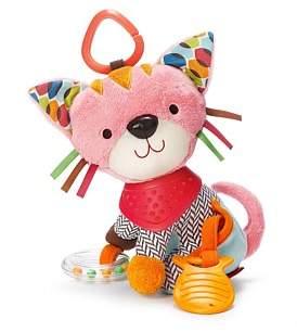 Skip Hop Kitty Bandana Pals Stroller Toy