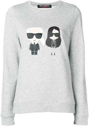 Karl Lagerfeld X Kaia Ikonik Sweatshirt