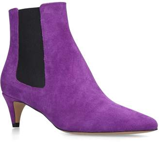 Isabel Marant Detty Suede Ankle Boots 50