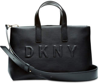 DKNY Tilly Logo Top-Zip Tote, Created for Macy's