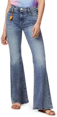 Mother The Super Cruiser High Waist Flare Jeans