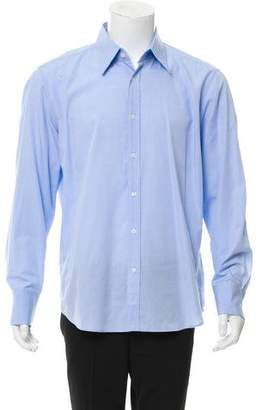 HUGO BOSS Boss by Fitted Button-Up Shirt