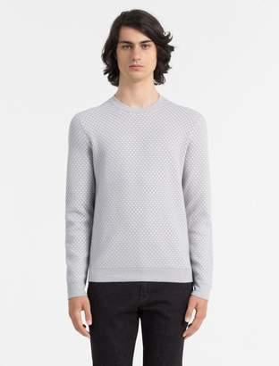 Calvin Klein slim fit sky crewneck sweater