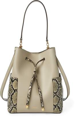 Ralph Lauren Leather Debby Drawstring Bag 96b39c85fe01b