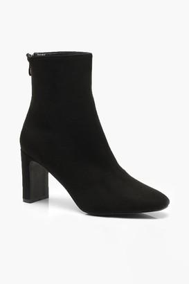 boohoo Low Heel Ankle Shoe Boots