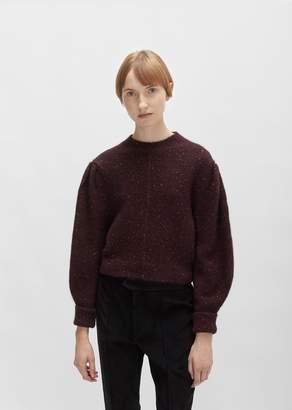 Isabel Marant Elaya Baby Alpaca Sweater Burgundy