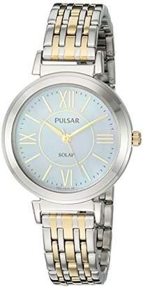 Pulsar Women's Quartz Stainless Steel Casual Watch