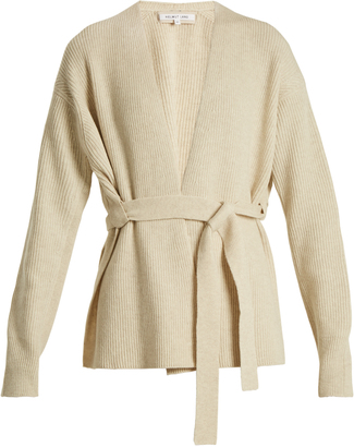 HELMUT LANG Wool and cashmere-blend cardigan $495 thestylecure.com
