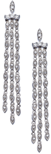 Max & Chloe Collection III CZ Linear Earrings