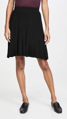 Theory Knit Pleat Skirt