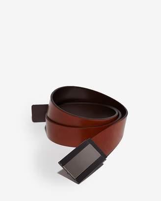 Express Reversible Brushed Center Plaque Belt