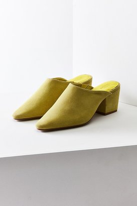 Urban Outfitters Becky Suede Pointy Toe Mule $69 thestylecure.com