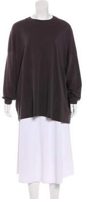 eskandar Long Sleeve Jersey Top