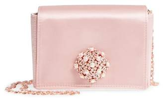 Ted Baker Brooch Detail Satin Evening Bag