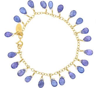 Lori Kaplan Jewelry Tanzanite Feather Bracelet