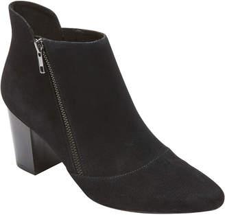 Rockport Gail Zip Leather Bootie