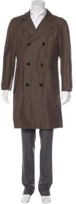 Burberry Woven Long Coat