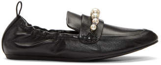 Lanvin Black Pearl Slippers