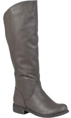 Co Brinley Women's Wide Calf Slouchy Round Toe Boots