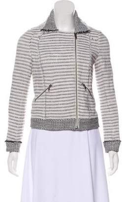 Ella Moss Tweed Zip-Up Jacket