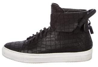 Buscemi x En Noir 125MM Embossed Sneakers