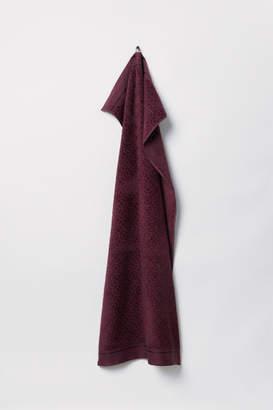 H&M Jacquard-weave Bath Towel - Red