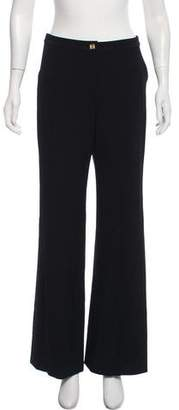 Gianni Versace Wool High-Rise Pants