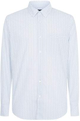 HUGO BOSS Cotton Rain Drop Shirt