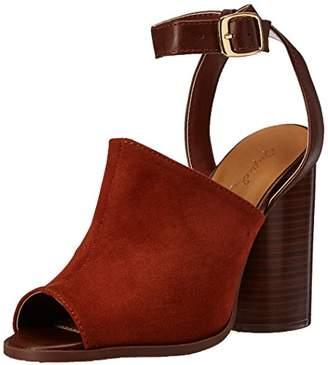 Qupid Women's Bondi-02 Heeled Sandal