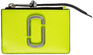 Marc Jacobs Yellow Snapshot Top Zip Multi Card Holder
