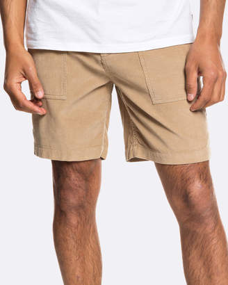 Quiksilver Mens Cool Atai Cord Walk Short