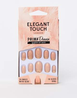 Elegant Touch Prima Donna Collection Queen of $ass False Nails