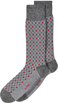 Alfani Men's Box-Diamond Socks, Created for Macy's