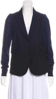 Sonia Rykiel Sonia by Wool Long Sleeve Blazer