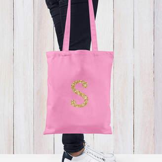 Hurley Sarah Personalised Glitter Initial Tote Bag