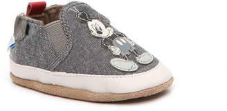 Robeez Old School Infant Crib Shoe - Boy's